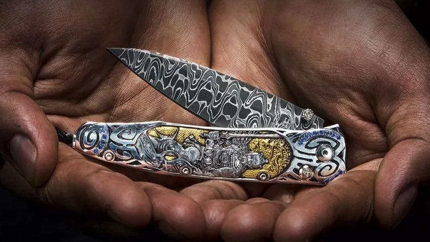带您走进威廉亨利车间揭秘顶级折刀纯手工制造过程