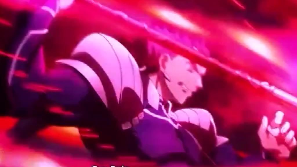 日漫 Fate红A与男枪的对决震撼啊