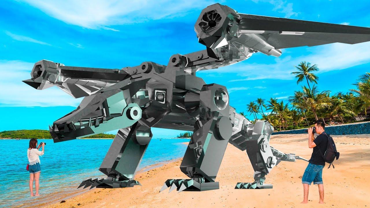 地球上曾经制造出的最大的十台机器人