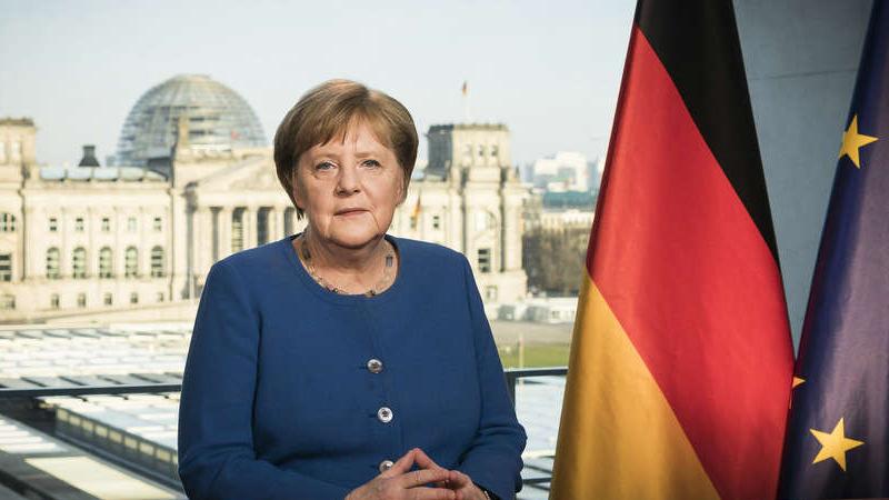 默克尔发表罕见电视讲话:新冠肺炎疫情为二战以来德国面临的最大挑战