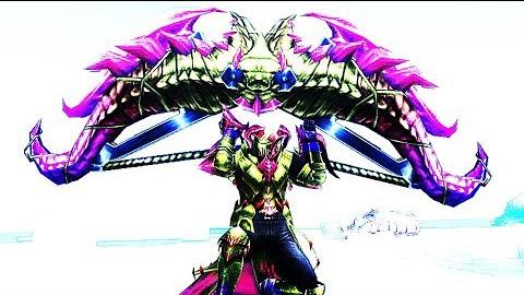 怪物猎人:边境 独占武器磁斩锤