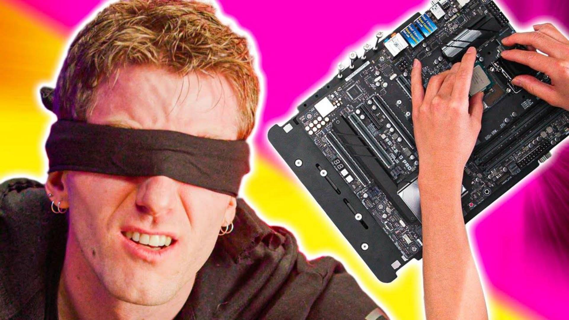 【官方双语】盲人装机挑战赛#linus谈科技