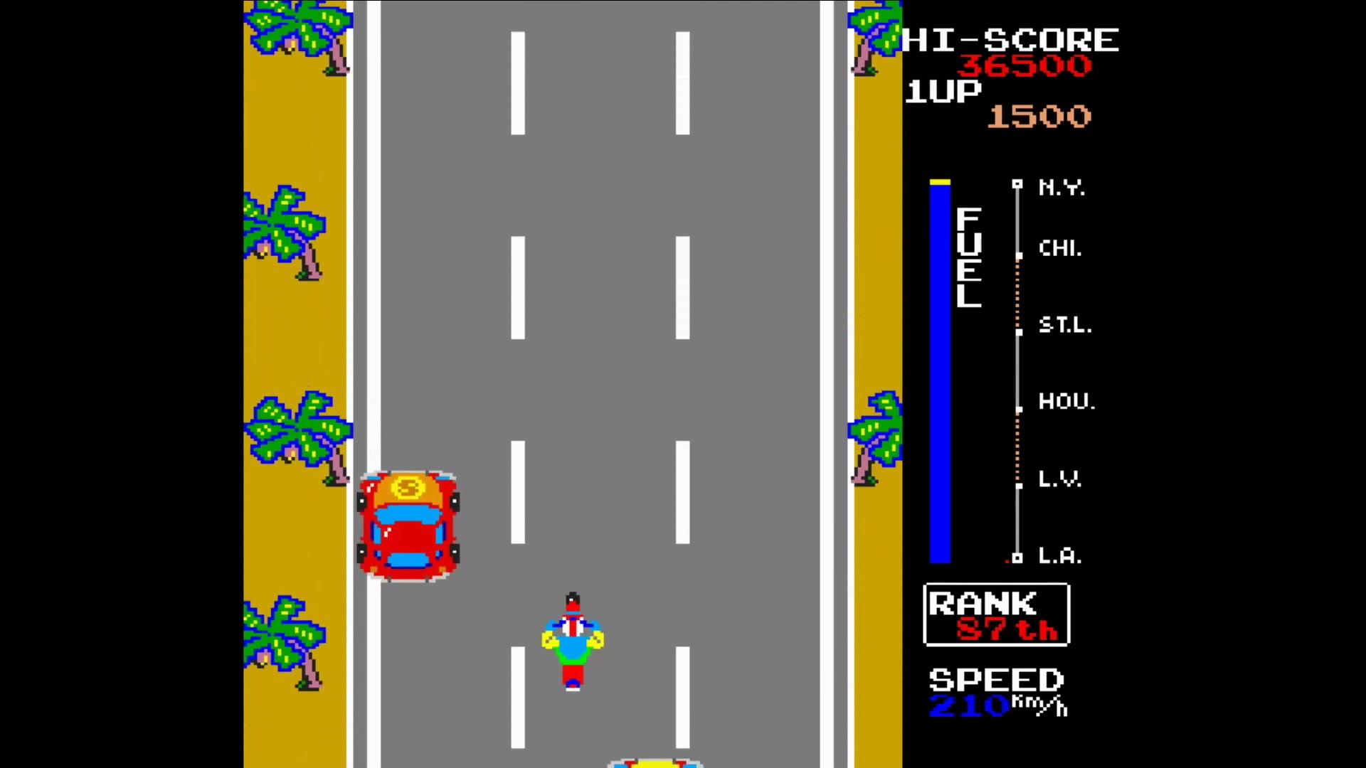 街机 极速摩托