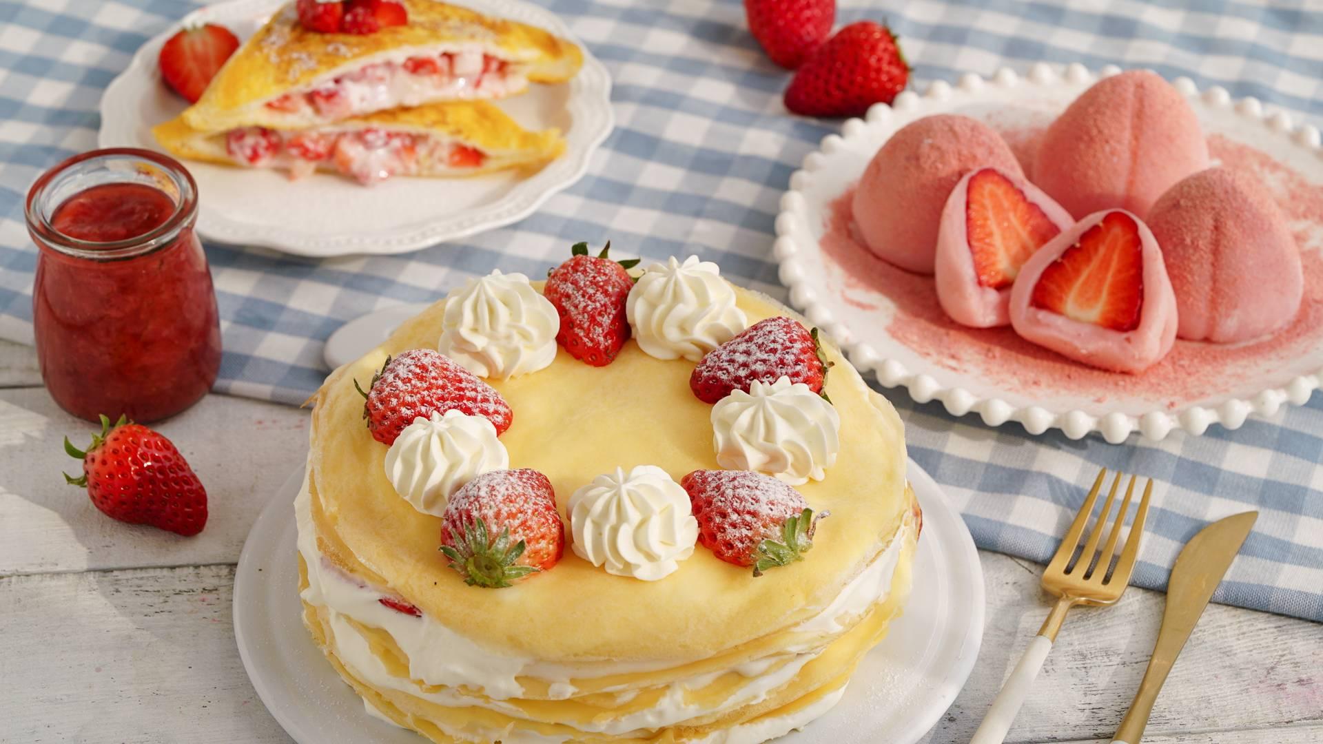 【草莓的N种神仙吃法】让你少女心炸裂!