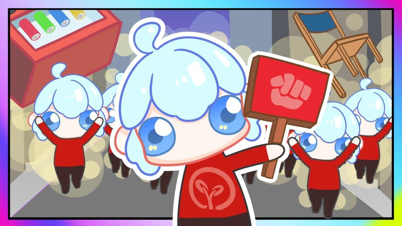 暴动萌军小白解说01 可爱的暴力市民 凶猛到警察也挡不住