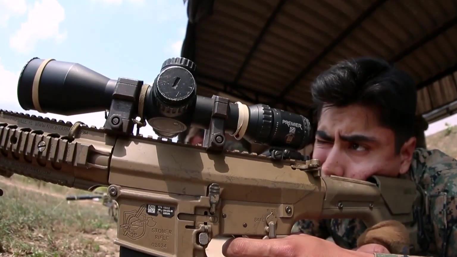 美泰 金色眼镜蛇军演 双边狙击训练射击