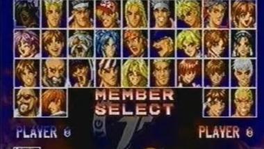 【KOF】PS1版拳皇京(The King of Fighters Kyo)全角色超杀演示