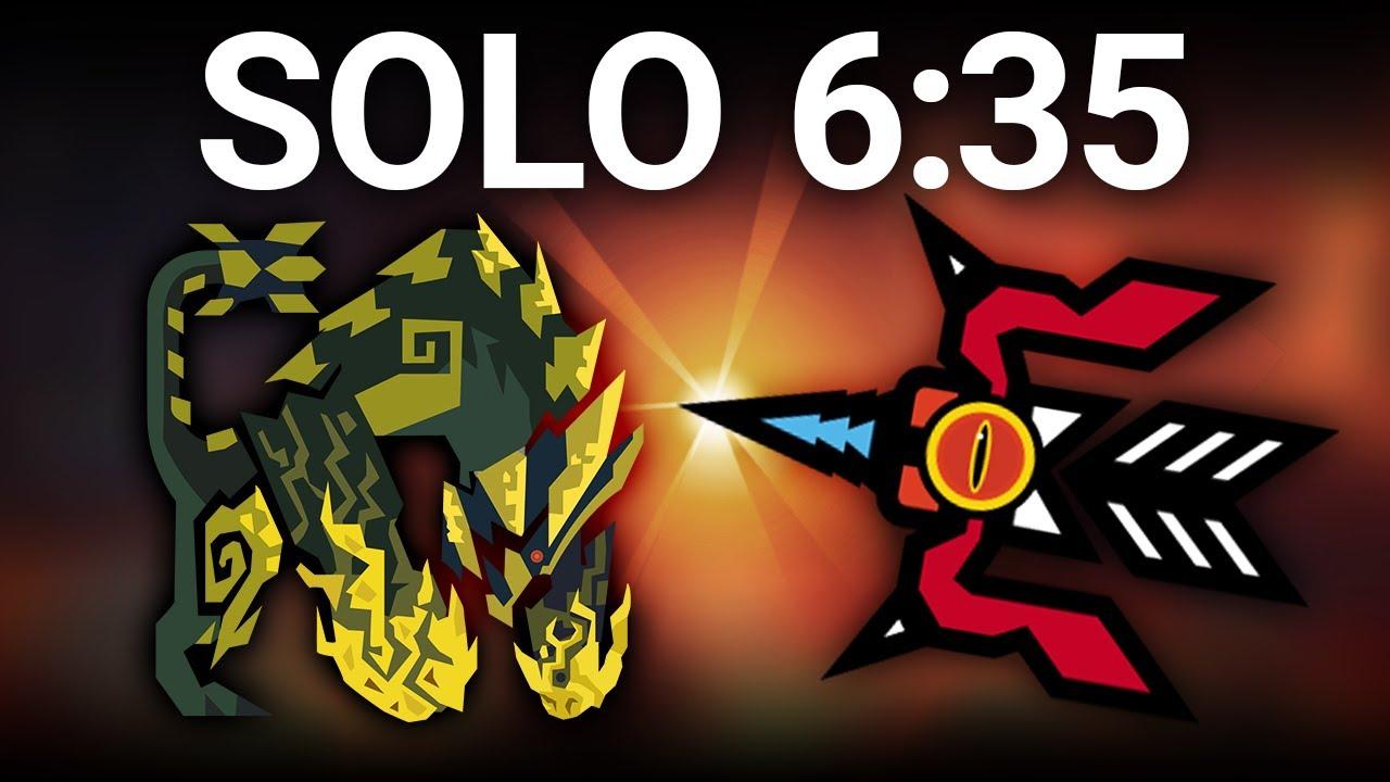 【怪物猎人:世界】 猛爆碎龙 弓SOLO