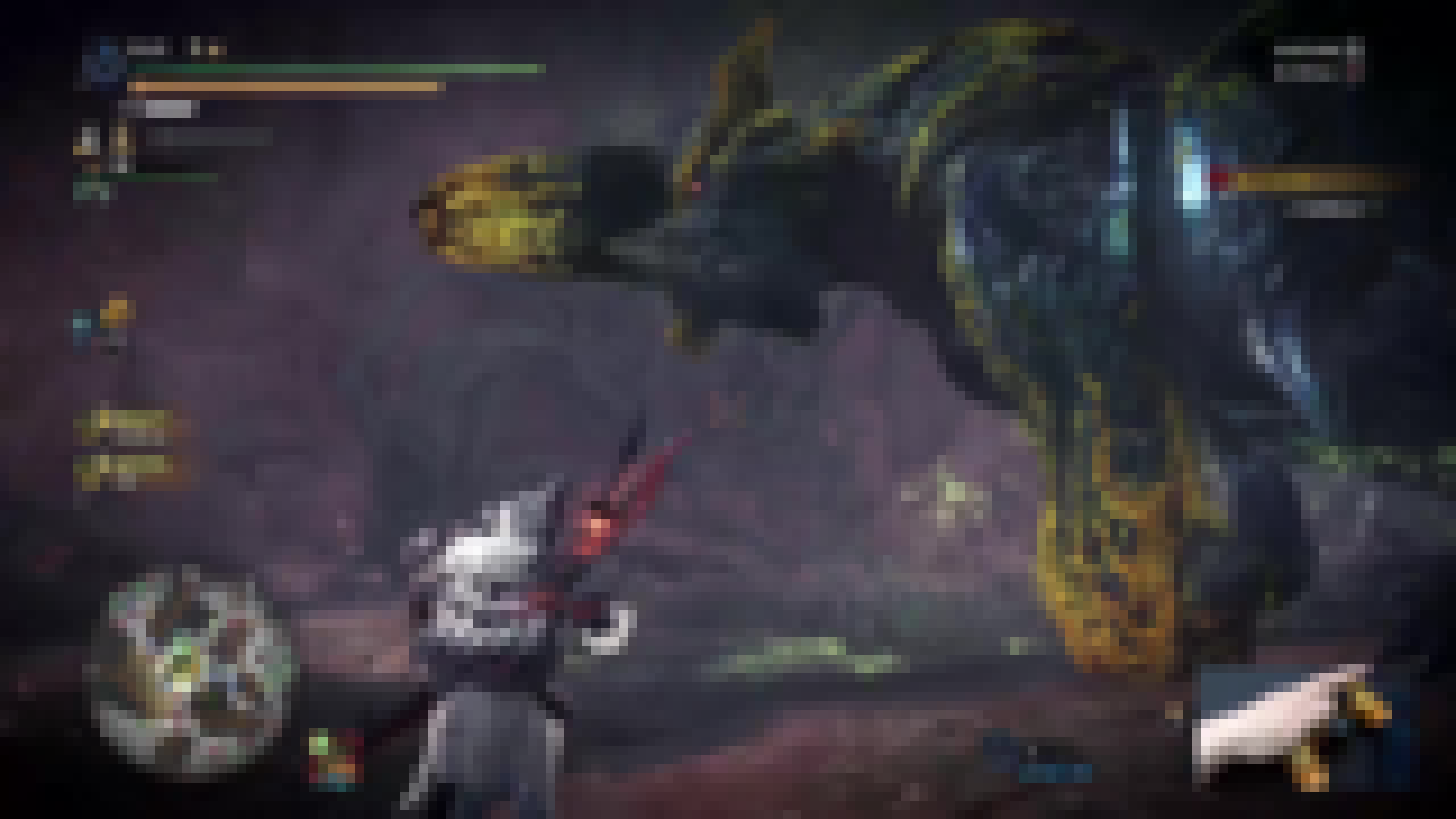 独臂玩家《怪物猎人:冰原》太刀初见击杀极限爆碎