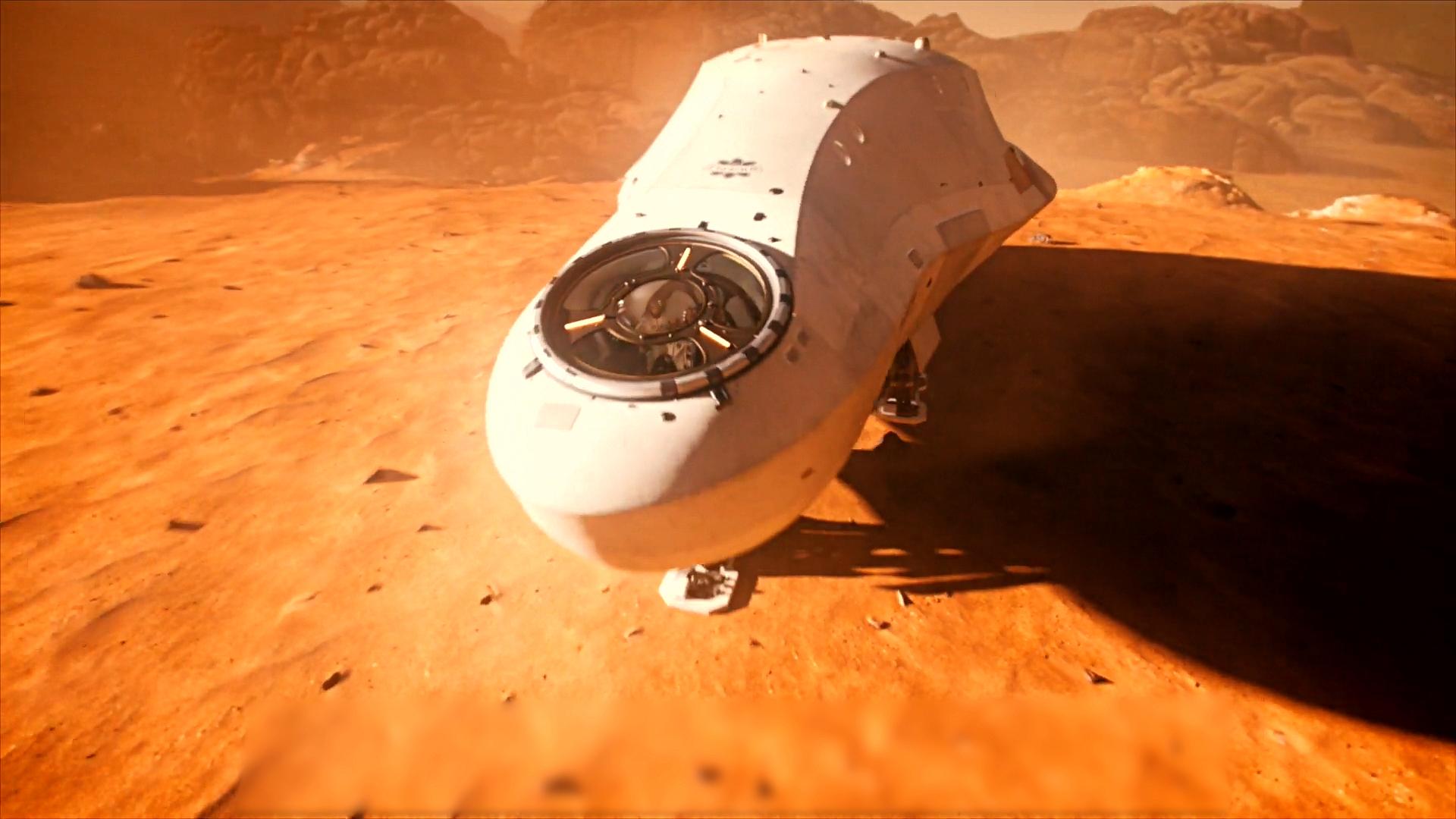 科幻片:人类灭绝后,只剩5名宇航员活在火星,却不知被人控制着