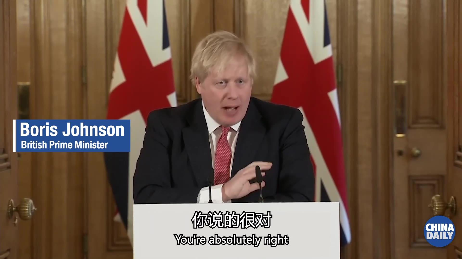 英国政府要求150万易感人居家至少三个月 首相称需要更多呼吸机