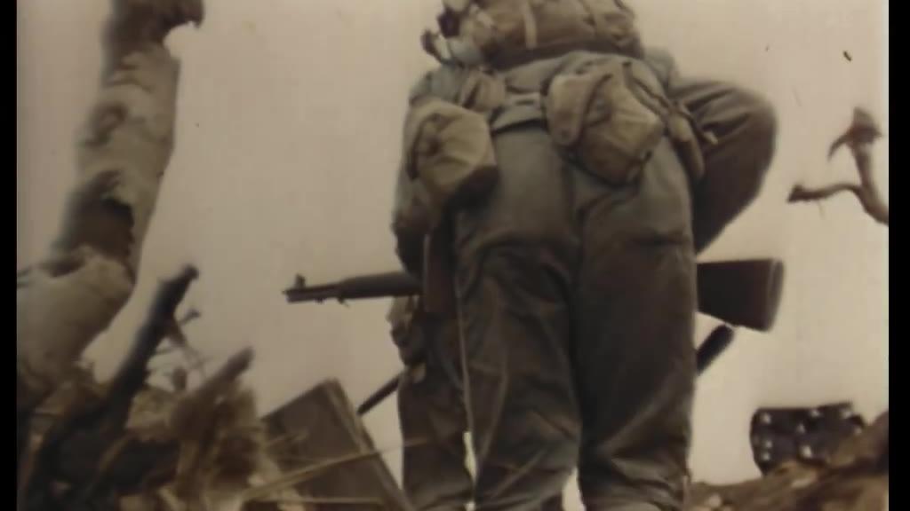 1945年彩色纪录片硫磺岛登陆To the Shores of Iwo Jima