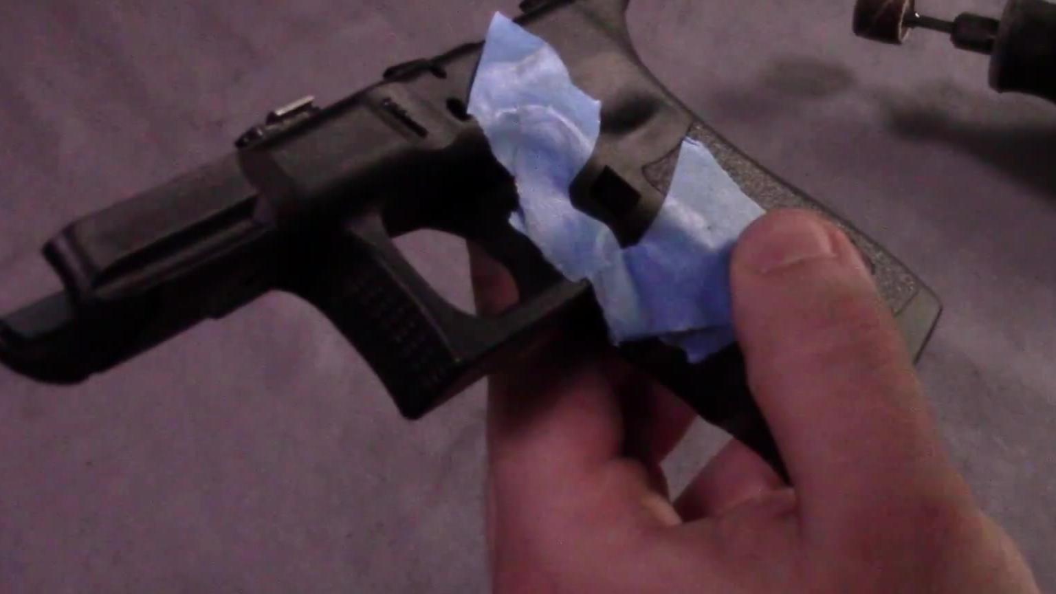 油管搬运|Glock Mod Series 格洛克烧烫握把(一定要看!多P最全的操作流程)