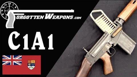 【被遗忘的武器/双语】来自北方的FAL--加拿大C1A1自动步枪介绍