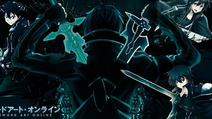 """【刀剑神域/混剪/燃向/踩点】""""当黑白之剑交叉时,那一刻就许下要永远保护你,彼此守护着对方"""""""