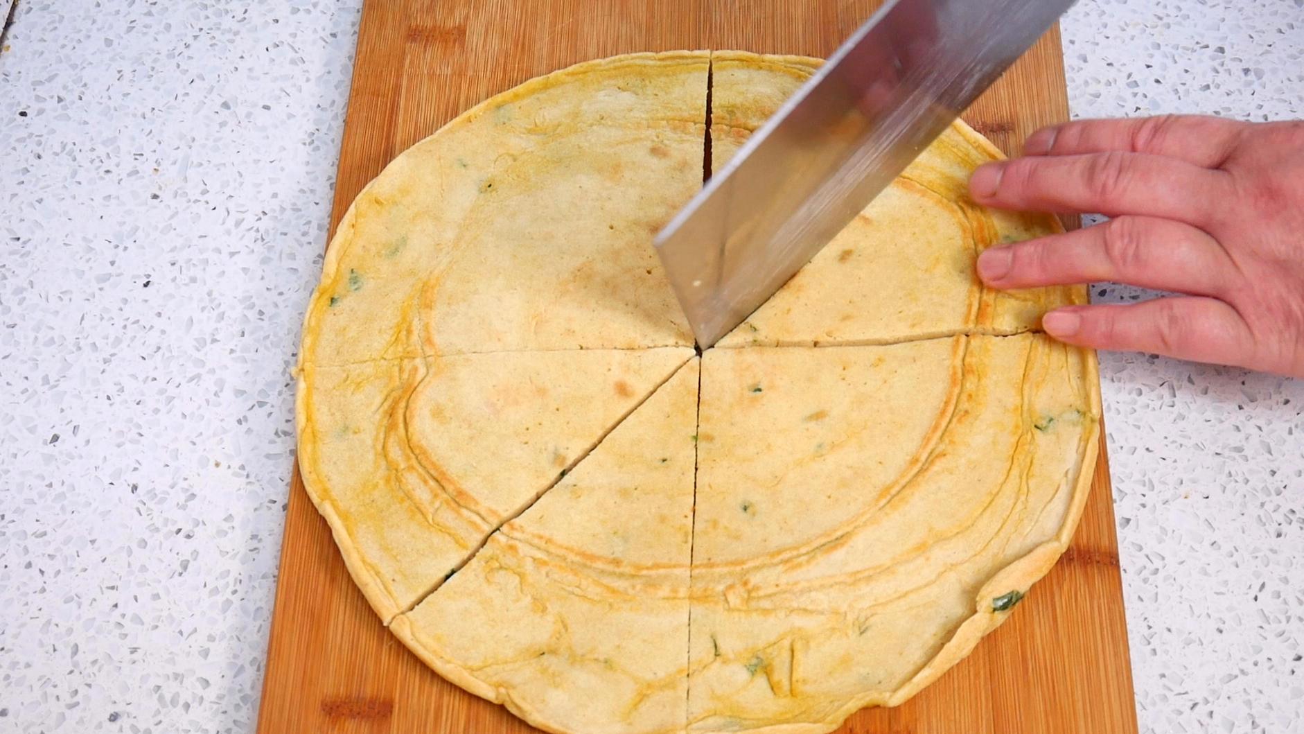 发面饼最简单的做法,不放酵母不放水,筷子搅一搅,比蛋糕还松软