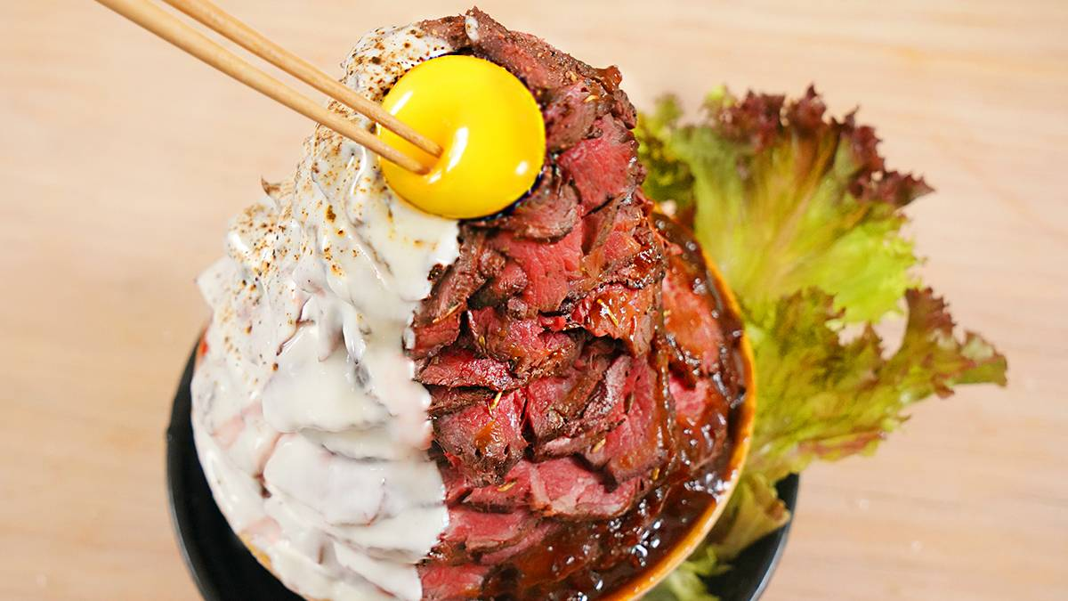 从未这样吃牛肉!4斤M5菲力只做一碗饭!一口下去满满的幸福感!