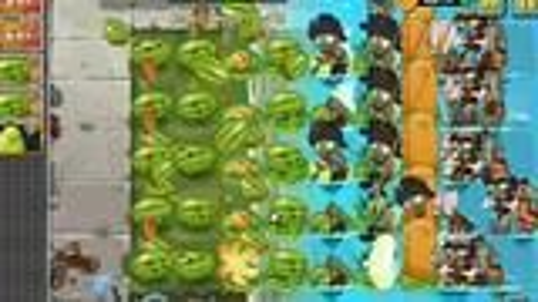 Plants vs. Zombies 2国际版6.2.1自制关演示【共六关】