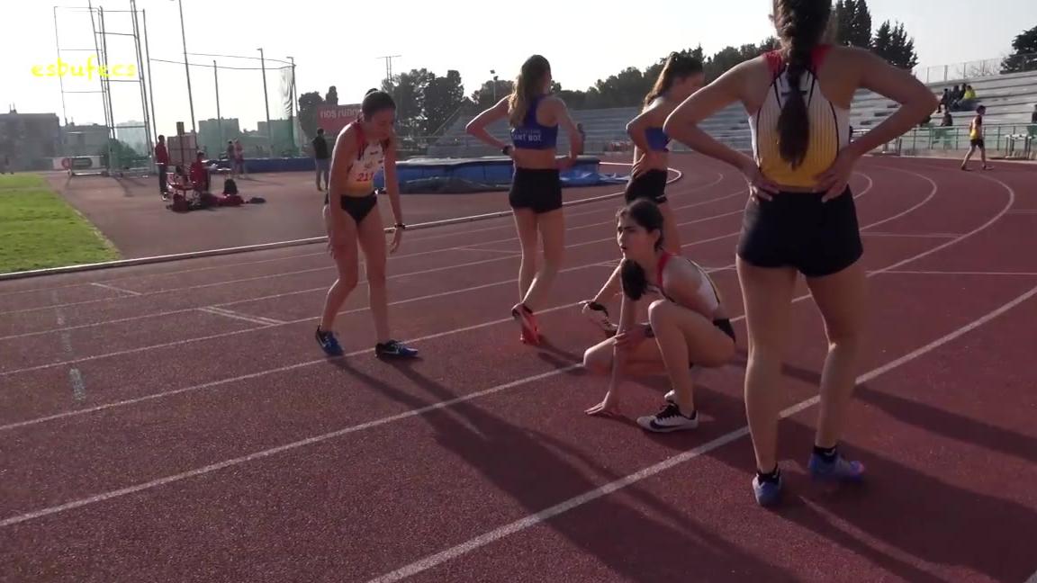 女田径运动员的日常
