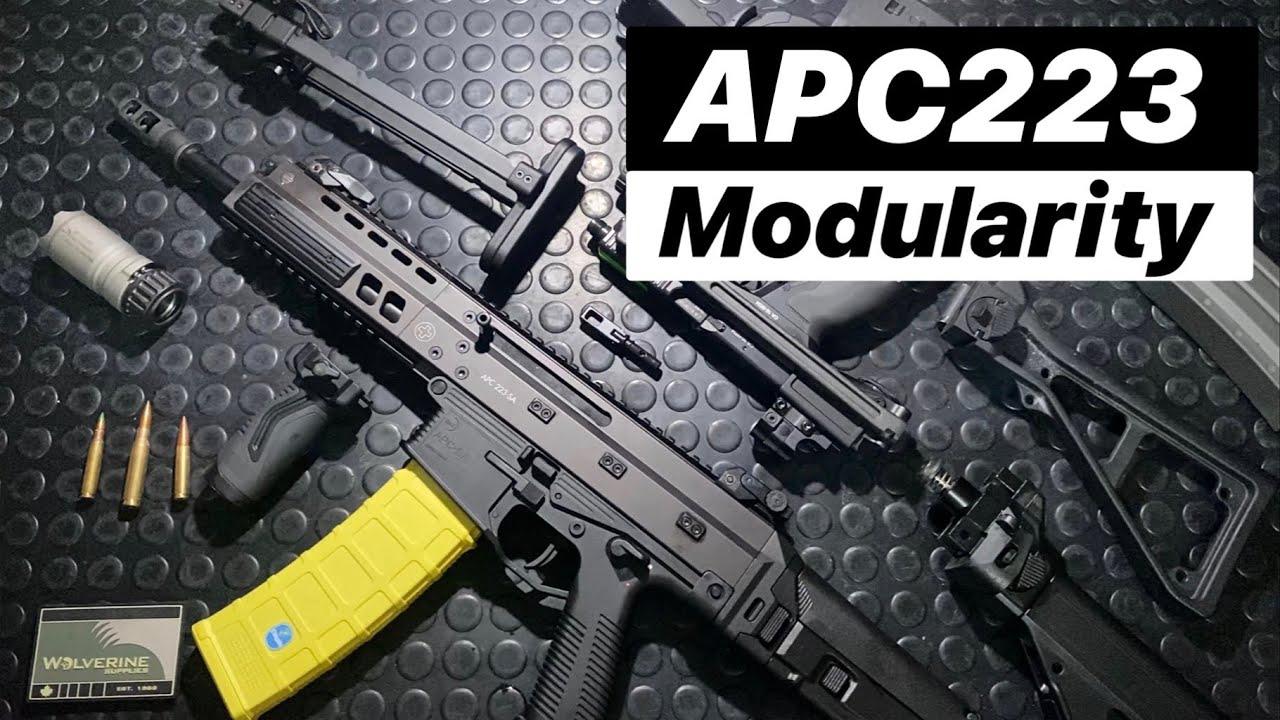 【ArmandGun】瑞士B&T APC223步枪的配件和模块化功能