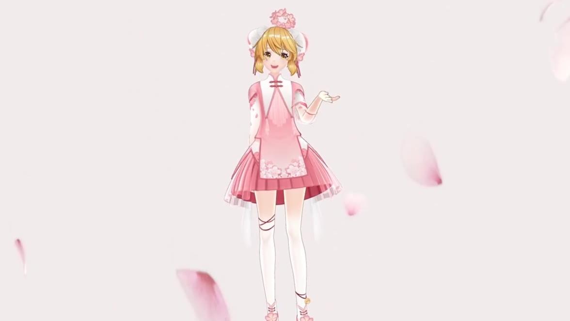 【她万曲兼容】桃花朵朵开