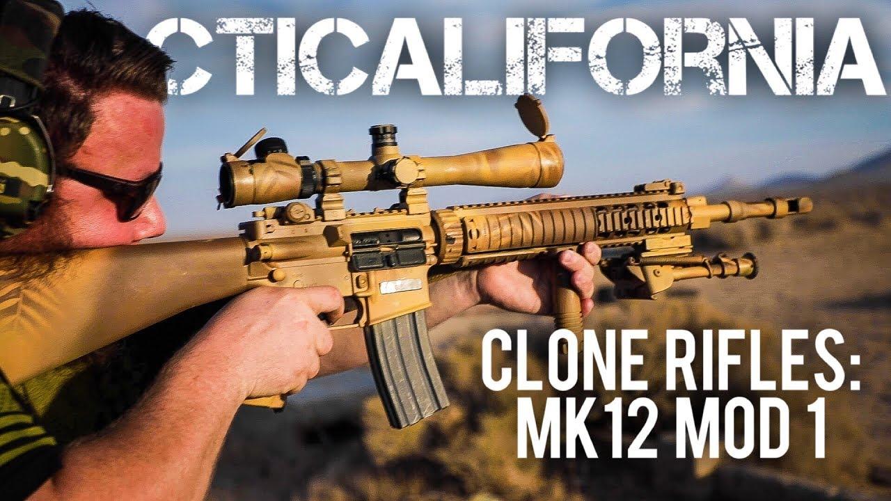 中文字幕【TACTICALFORNIA】教你复刻MK12 MOD1