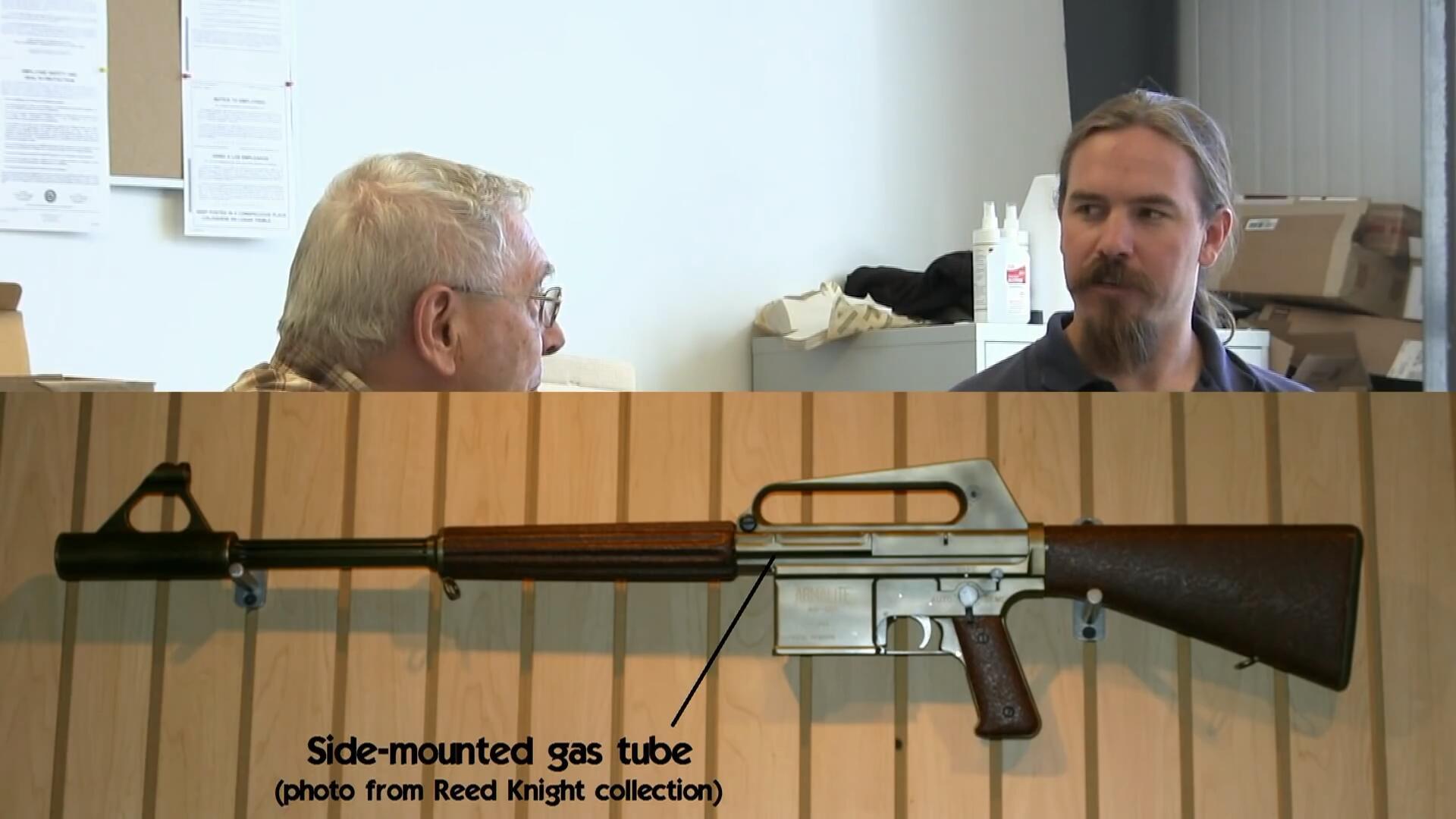 【InRangeTV/双语】采访AR-15设计师詹姆斯·苏利文/恒定后座AR靶场试射