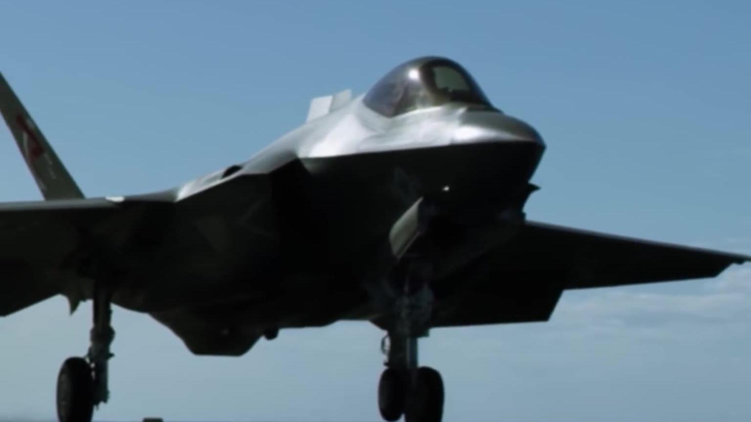 F-35闪电B在行动