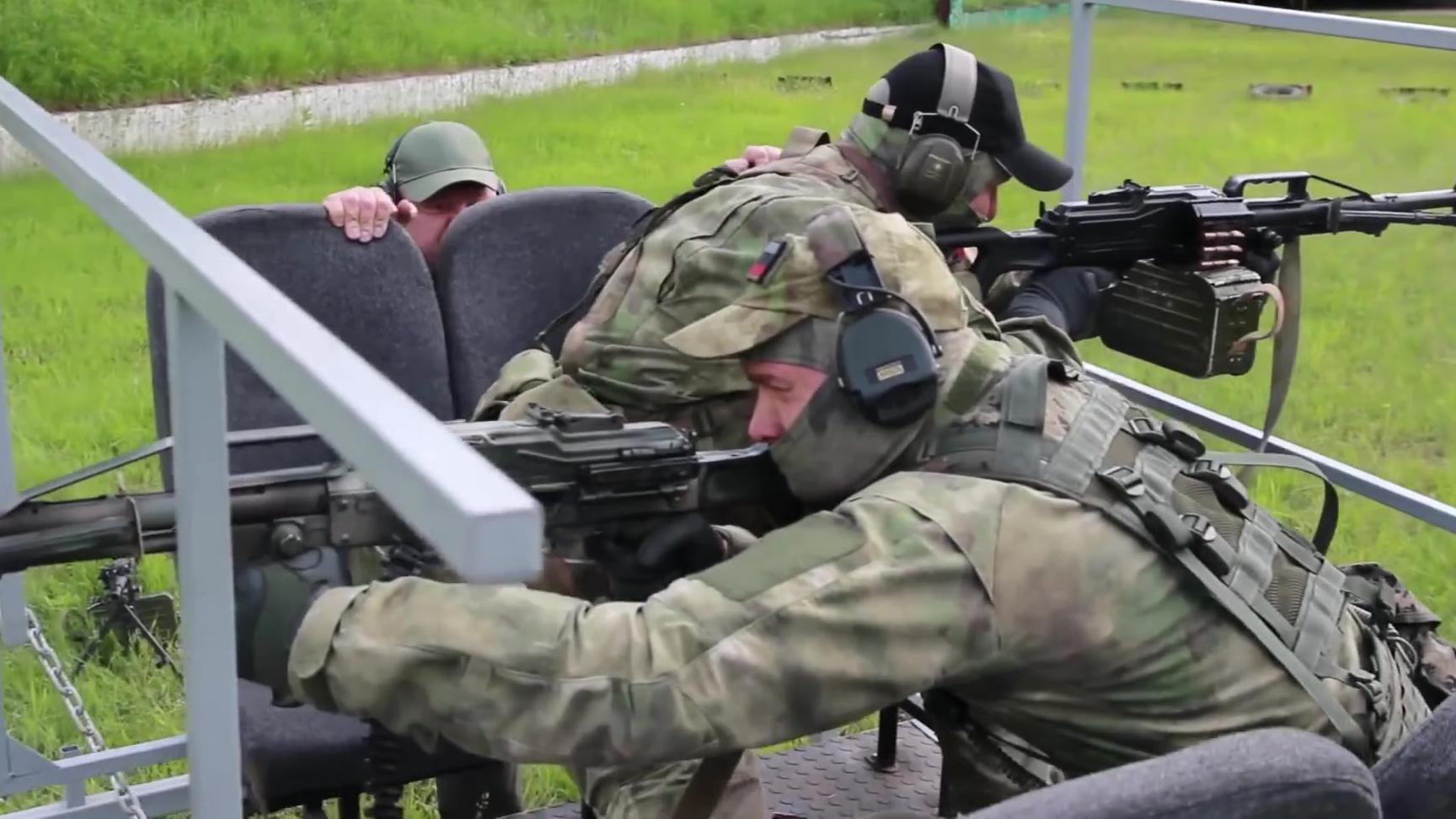 俄罗斯特种部队战术训练
