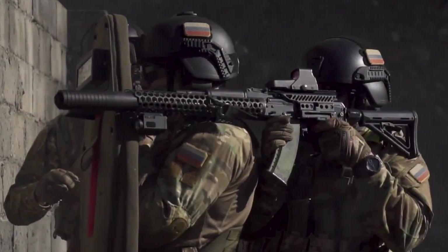 俄罗斯特种部队超硬和训练