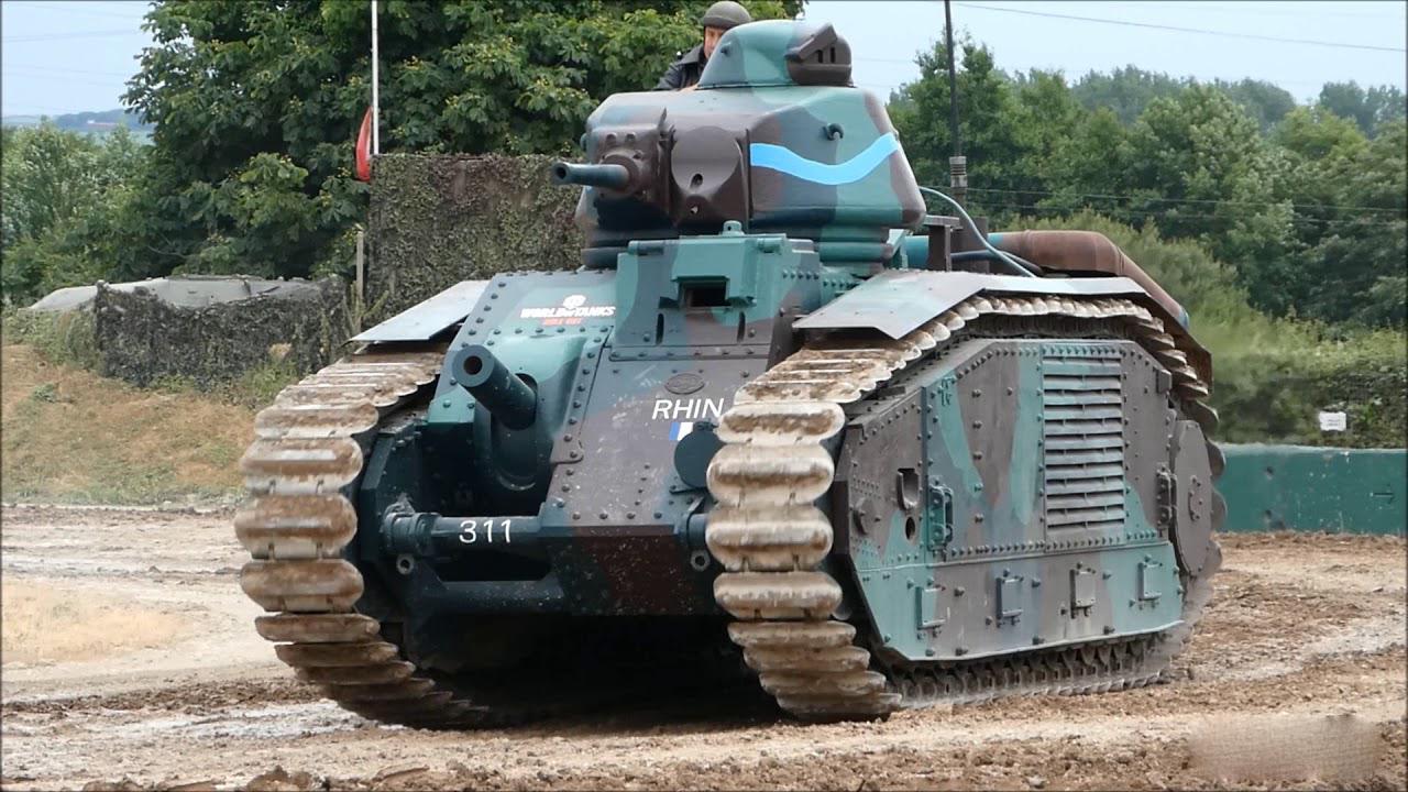 【讲堂545期】一辆就能灭一个德国坦克队,代表法国二战工业的巅峰的B1重型坦克