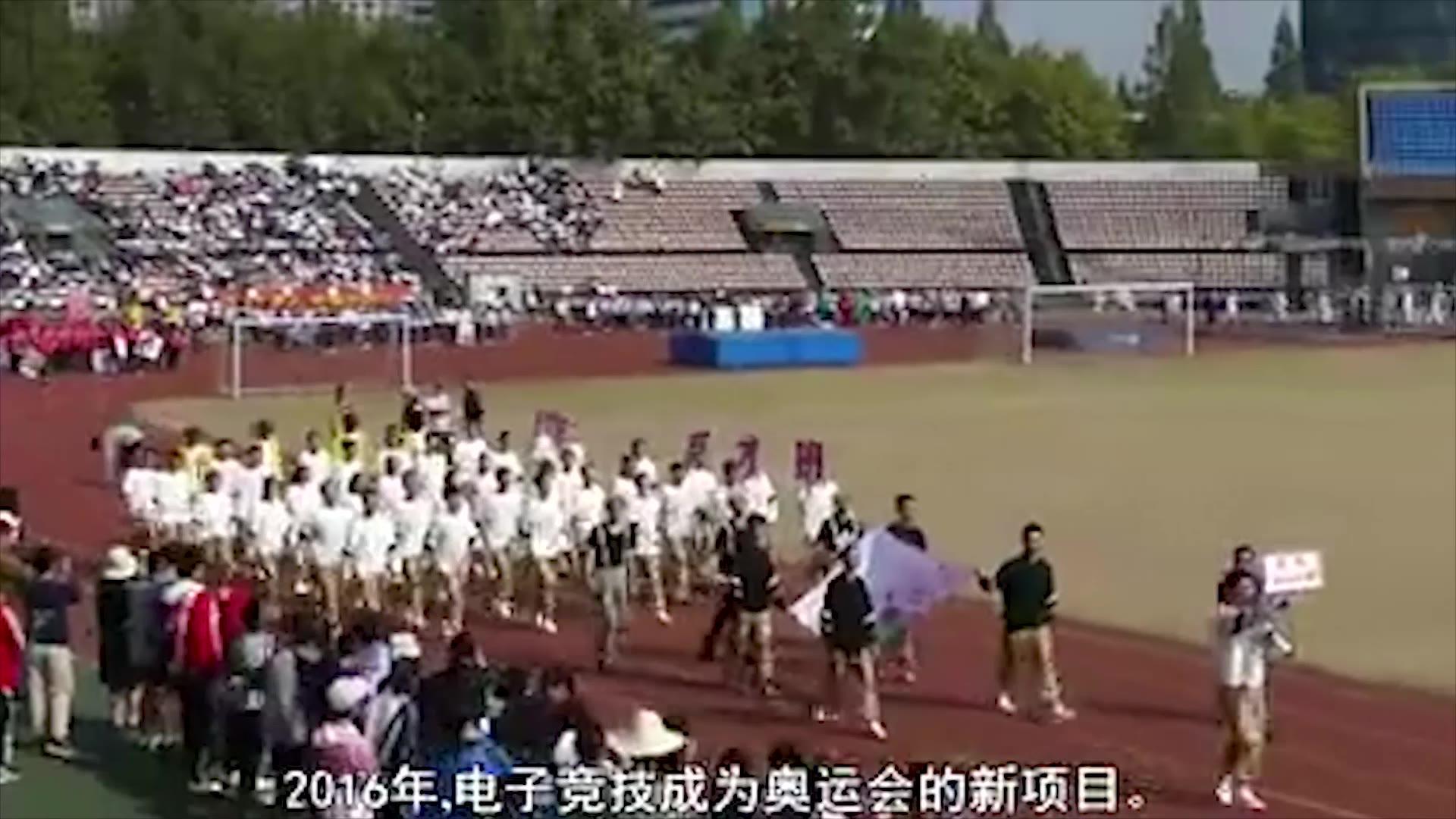 蔡徐坤作为NBA篮球大使,已经深入中小学生的运动会了