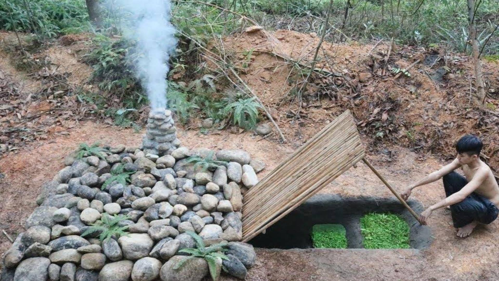 打造中国最秘密的地下石楼古技巧