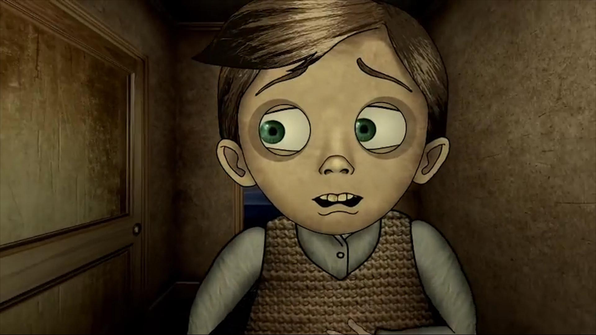 儿子发现家里有只恶魔,可父亲却不以为然,母亲竟也坦然面对