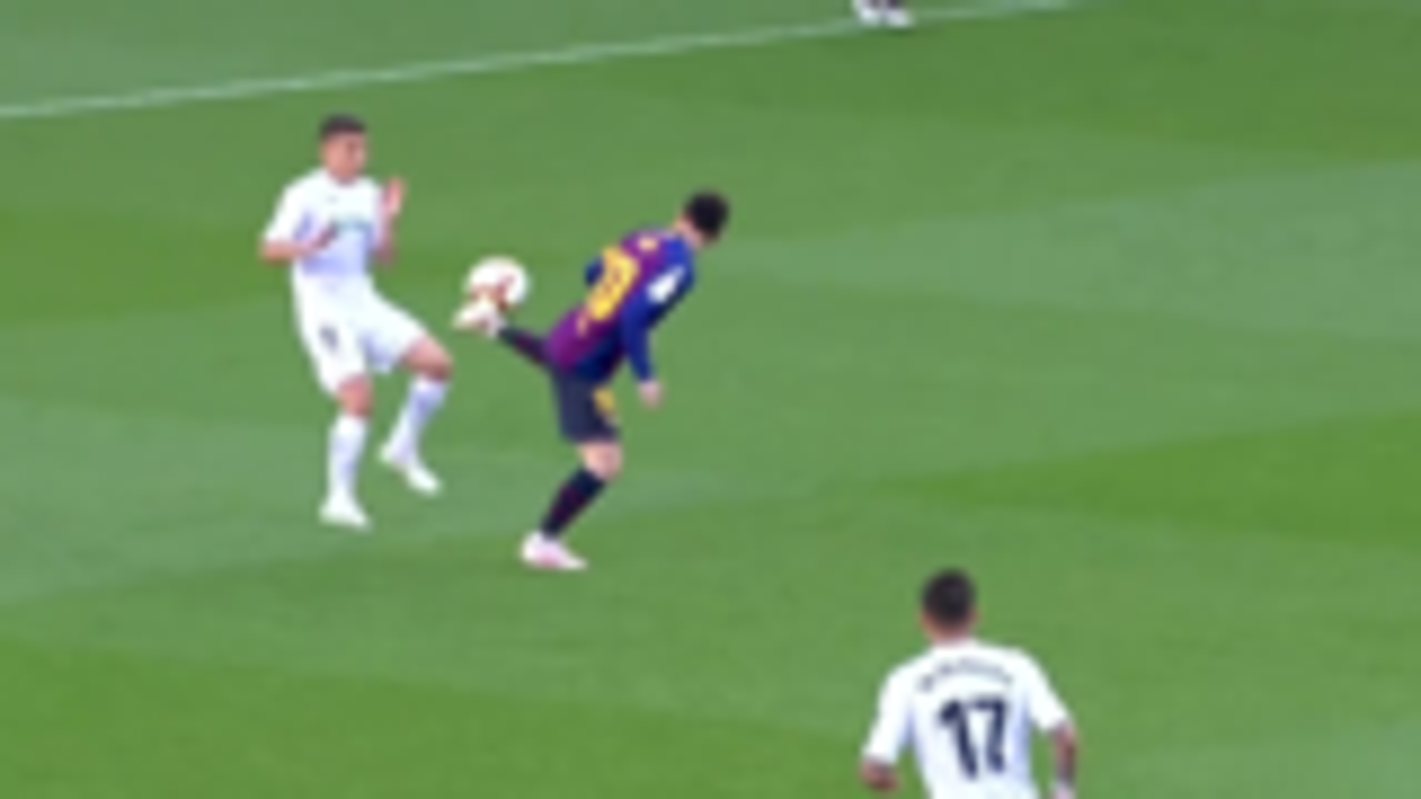 梅西-足球时刻!