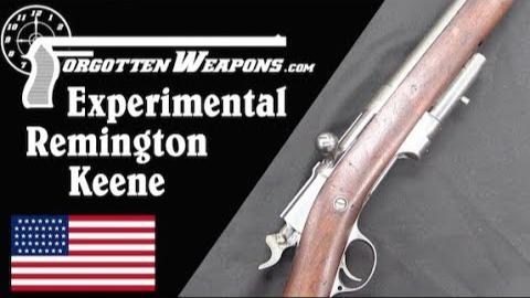 【被遗忘的武器/双语】雷明顿-基恩试制步枪--解决弹仓殉爆问题