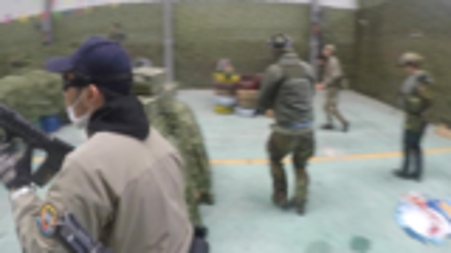 杭州水弹ffg战队 wg 突击正嗨 被对手绕后讲解