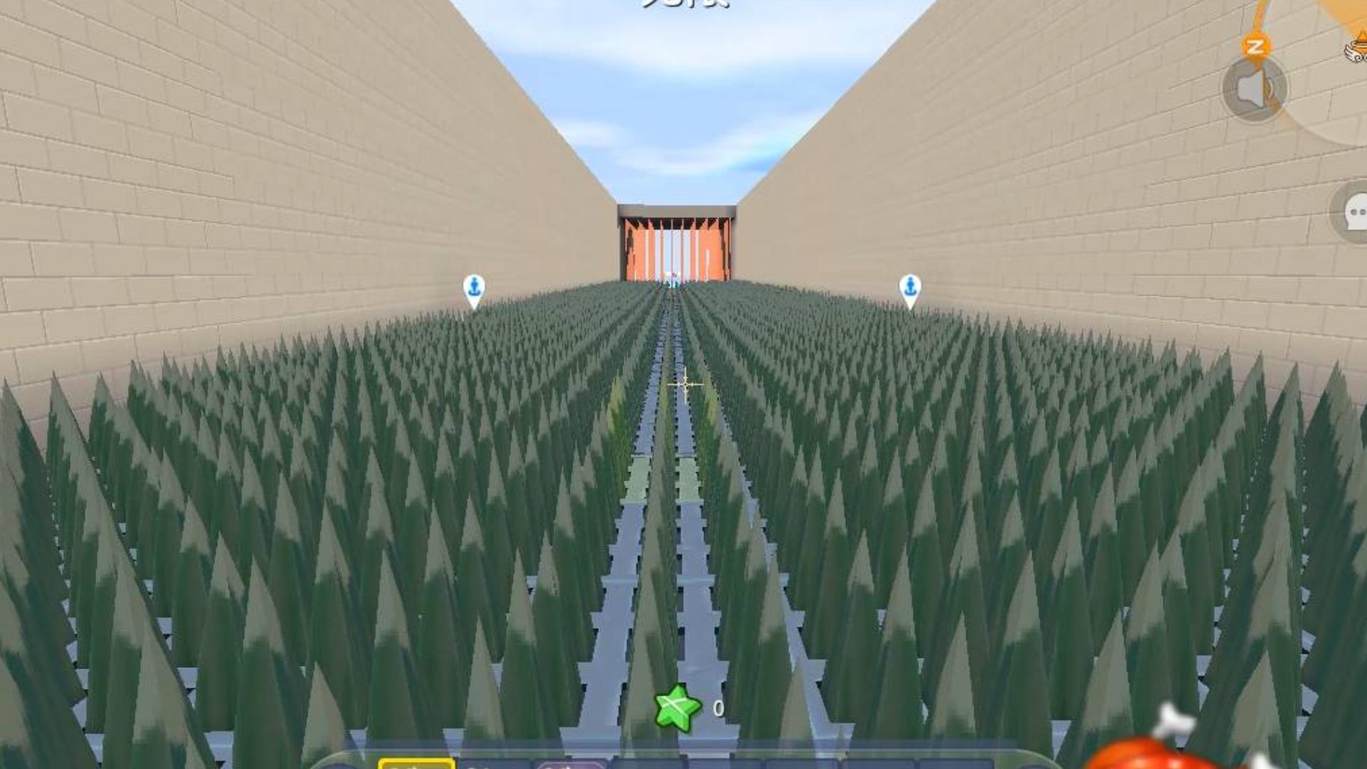 迷你世界:9999亿滴血跑酷,半仙照样能被坑死这地图真的有毒!