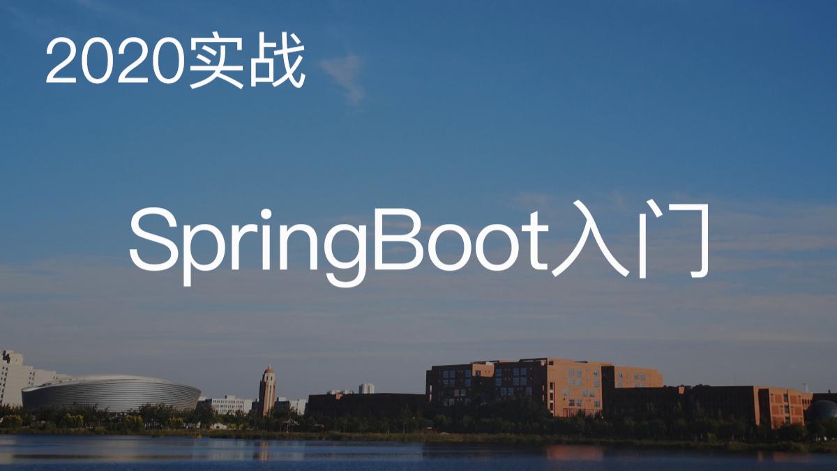【2020实战】SpringBoot零基础入门