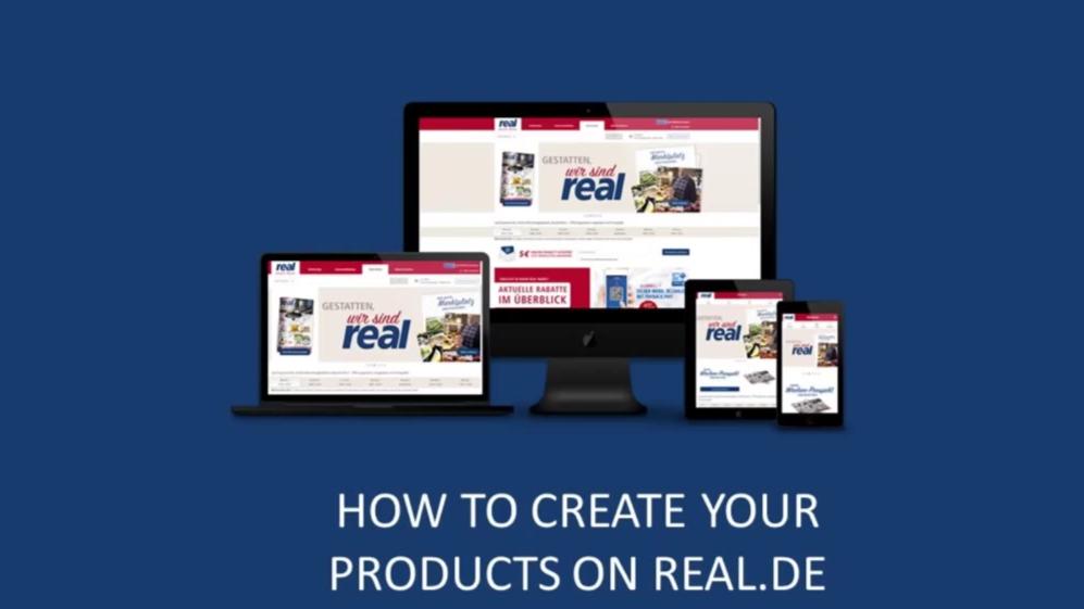 如何在Real.de上创建产品