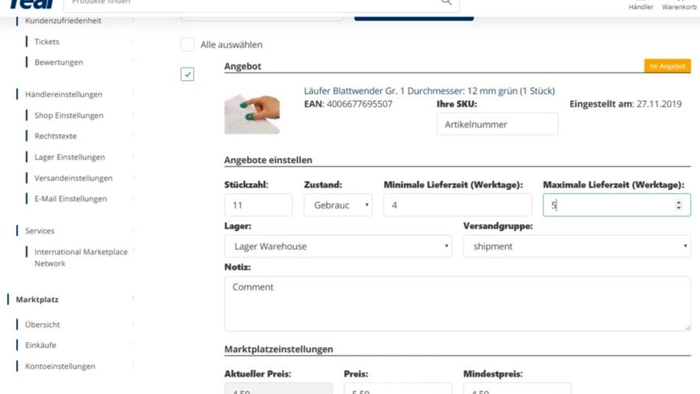 ESG运营技巧:如何在real.de上创建和编辑报价