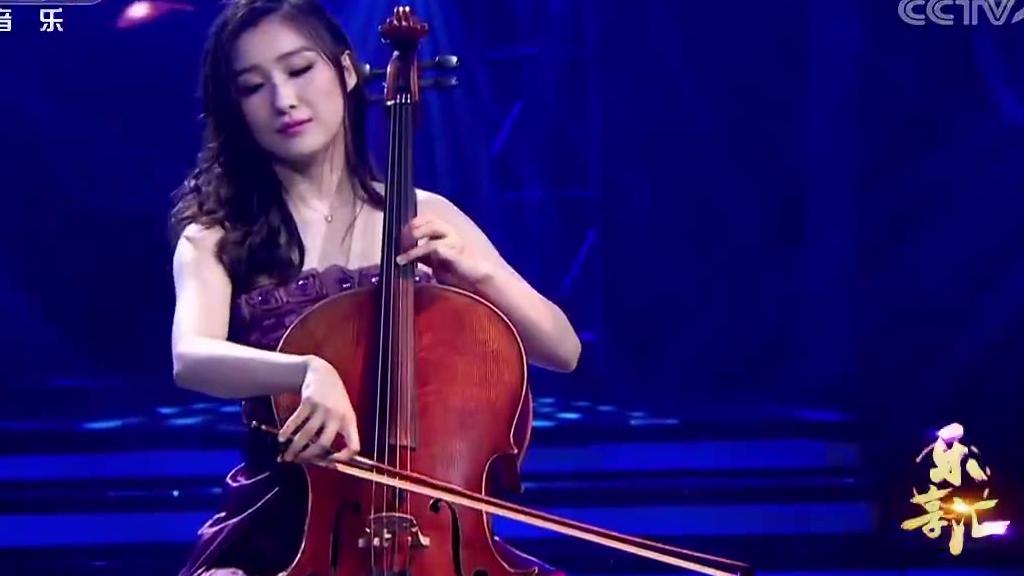 惊艳全场,天籁之声《铁血丹心》 二胡:许慧 大提琴:张舒
