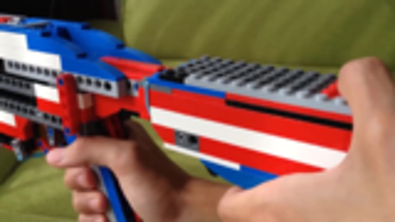 [Kevin183]Lego Shotgun (working)