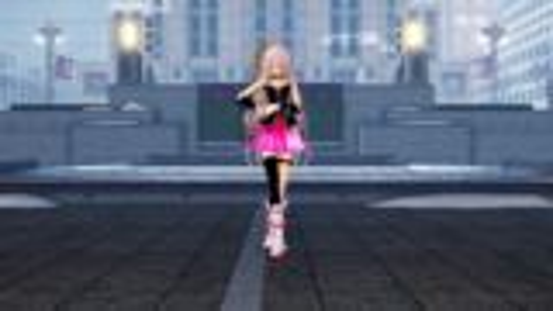 抗疫期间 IA没忍住还是去广场跳舞了
