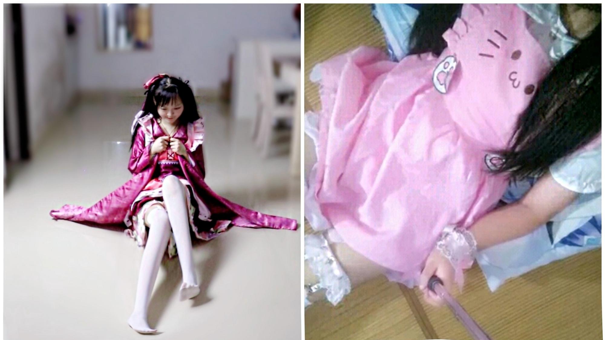 【北宫翎】 竖屏版小樱茉莉和服《旋转吧雪月花》