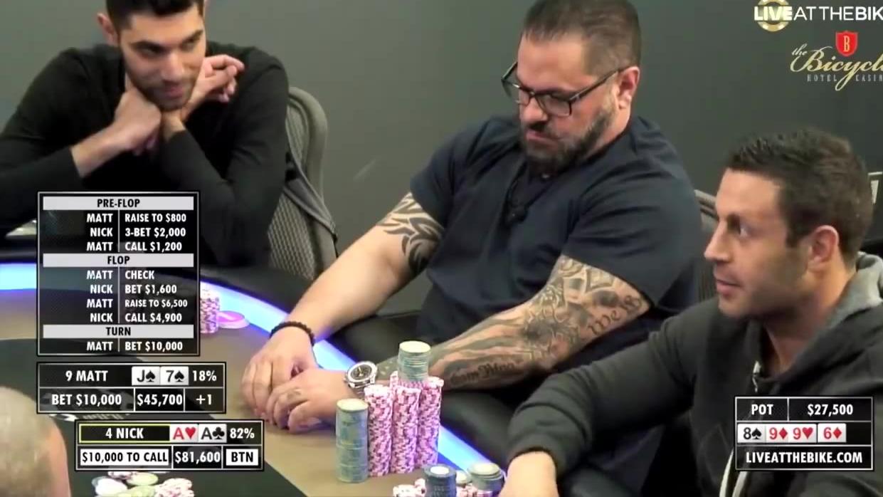 德州扑克教程 - 高手的基本素养 (2) 平衡偷鸡
