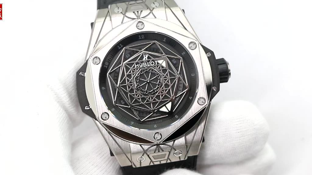 玩转几何艺术,让宇舶名声大噪的腕表之一,WWF厂宇舶刺青腕表实拍欣赏