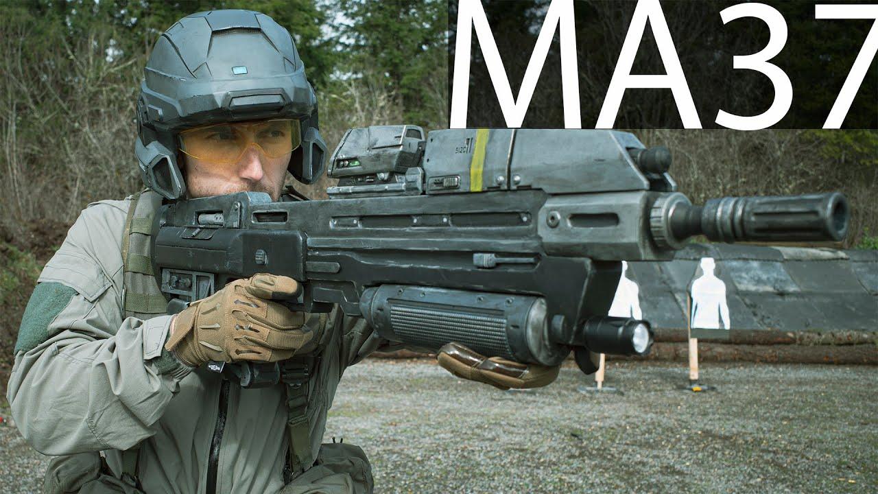 中文字幕【Garand Thumb】MA37突击步枪(UNSC的利刃)