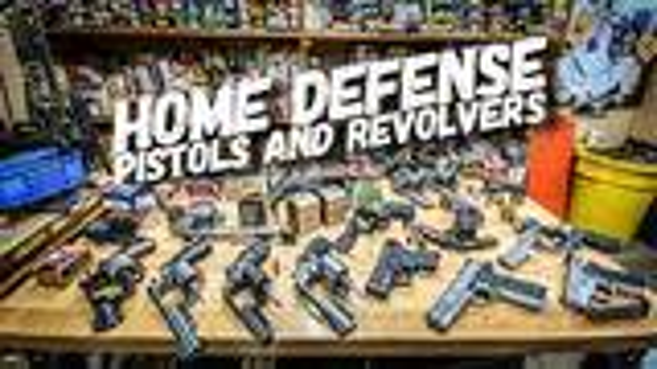 [北美枪神Jerry]聊聊那些武器更适宜用做居家防护(英字无翻译)