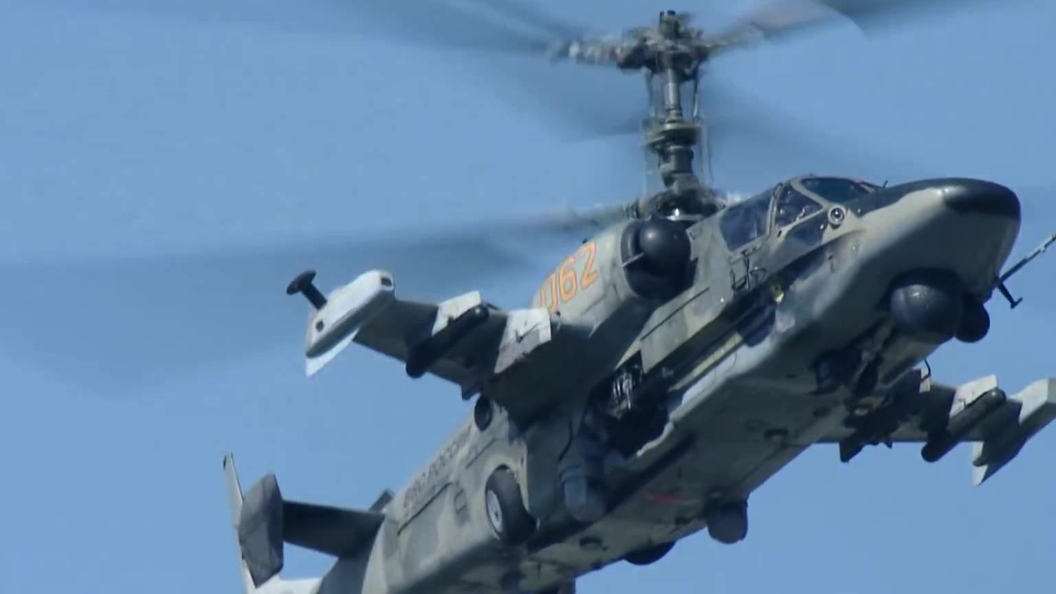 俄罗斯  Ка-52